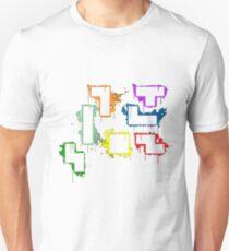 splater tetris T-Shirt