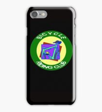 BICYCLE RIDING CLUB: Decorative Cycle Print iPhone Case/Skin
