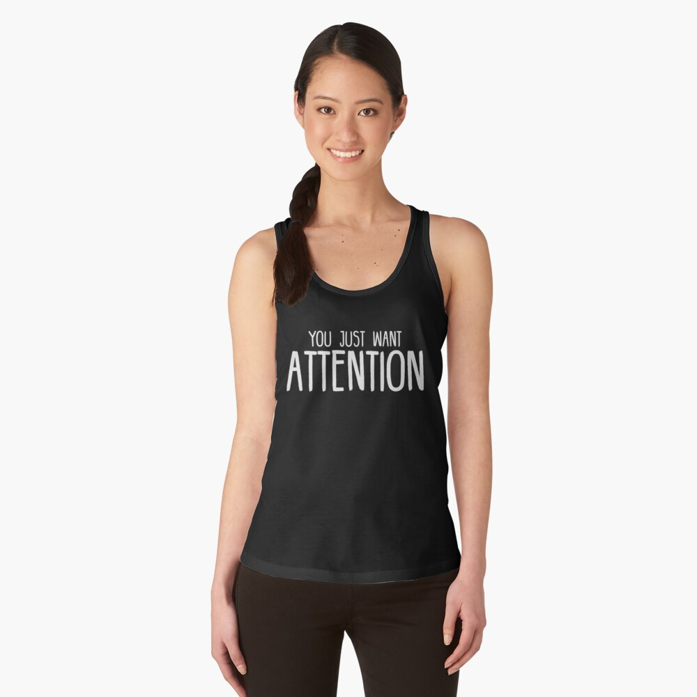You Just Want Attention - Charlie Puth Women's Tank Top Front