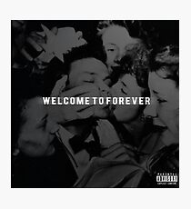 Welcome to Forever Album Cover HD Photographic Print