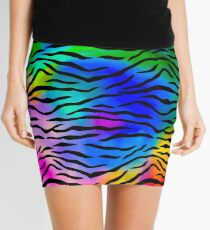 Tiger Stripes Mini Skirt