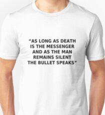 Anti-war Message T-Shirt
