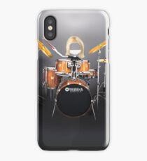 Corky's playing the Drums iPhone Case