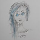 Hipsy - A Hippy Gypsy by Sharen Chatterton