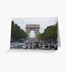 champs elysees Greeting Card