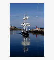 Tall Ship Captured Photographic Print