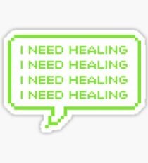 GUESS who needs healing Sticker