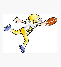 American Football Cartoon Style 24/41 Photographic Print