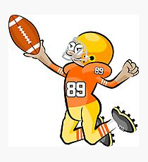 American Football Cartoon Style 28/41 Photographic Print