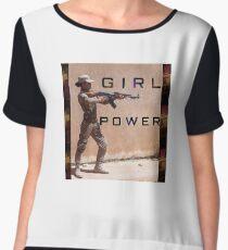 GIRL POWER Women's Chiffon Top