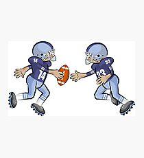 American Football Cartoon Style 31/41 Photographic Print