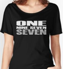 ONE NINE SEVEN SEVEN Women's Relaxed Fit T-Shirt