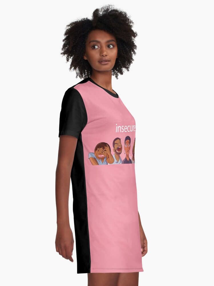 8230a58d9 Alternate view of HBO - Insecure Series Anime Style Graphic T-Shirt Dress