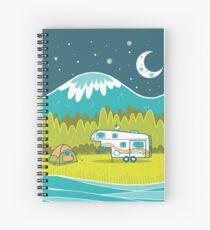 Camp Out Spiral Notebook