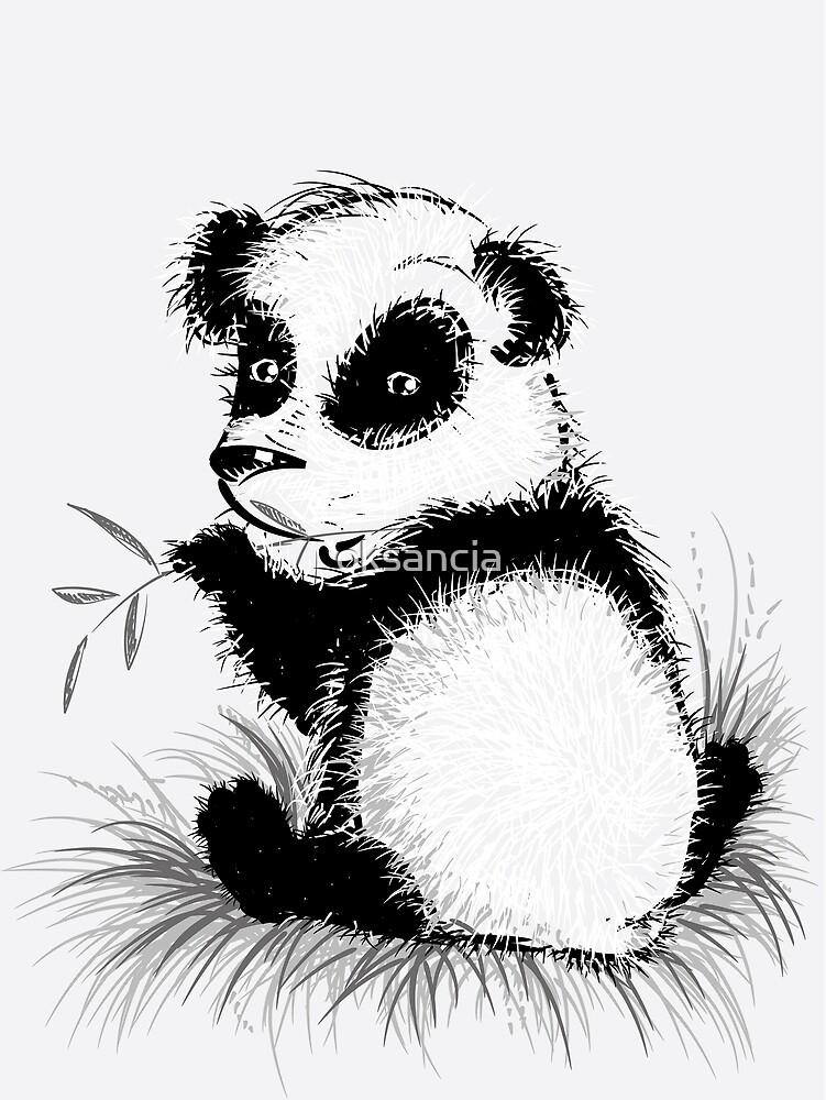 Small panda by oksancia