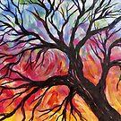 Stimmungsvolle Zweige von Dreamy Scribbles