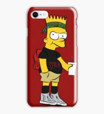 Bart Hipster iPhone Case/Skin