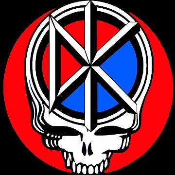 Dead kennedys skull tee by zumseh