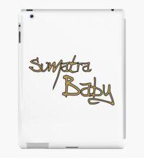 Sumatra Baby - Cafe Latte iPad Case/Skin