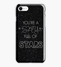 coldplay - a sky full of stars iPhone Case/Skin