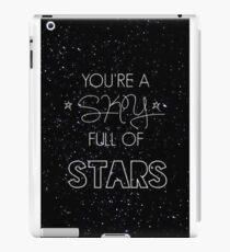 coldplay - a sky full of stars iPad Case/Skin