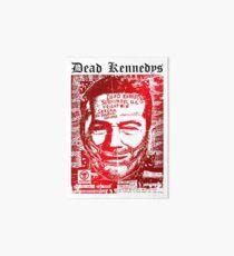 Dead kennedys face Art Board
