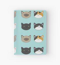 Kitty Sticker Set  Hardcover Journal