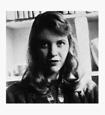 Sylvia Plath - Photo Photographic Print