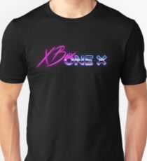 80s XBox One X Logo T-Shirt