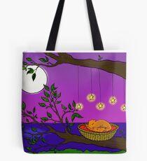 Cosy Squirrel Tote Bag