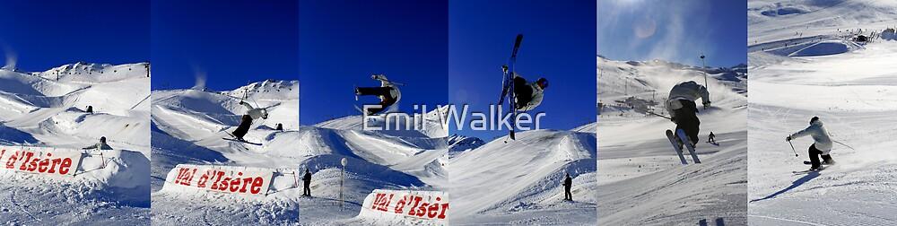 ski flip by Emil Walker