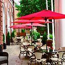 The Veranda of the Rodd  Charlottetown Hotel, PEI Canada by Shulie1