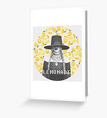 BEYONCÉ - LEMONADE Greeting Card