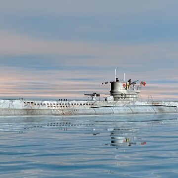 German Submarine U-99 by Skyviper