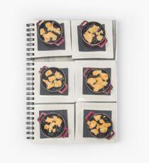 Blueberry Ice Cream Cobbler  Spiral Notebook