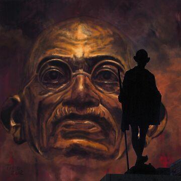 Gandhi - the walk by ARTito
