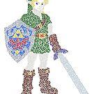 Link in The Legend of Zelda Ocarina of Time by Karotene