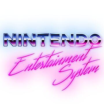 80s NES Logo by phoenix529