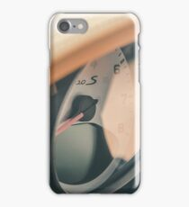Sports Car Gage Cluster iPhone Case/Skin