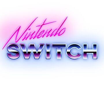 80s Nintendo Switch Logo by phoenix529