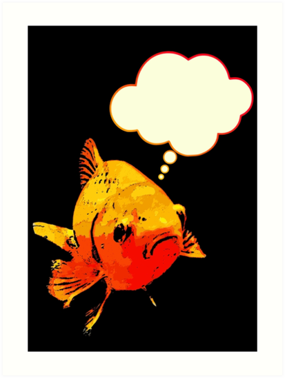 Fishy Thoughts by Bronzarino