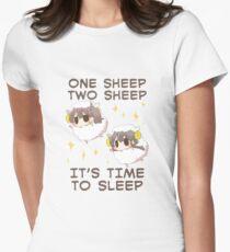 Kaga sheep Womens Fitted T-Shirt
