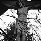 Jesus Christ figure St Paul's Shadwell by joelmeadows1