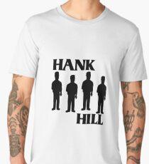 Hank Hill/ Black Flag logo Men's Premium T-Shirt