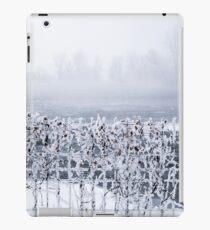 Frozen fence iPad Case/Skin