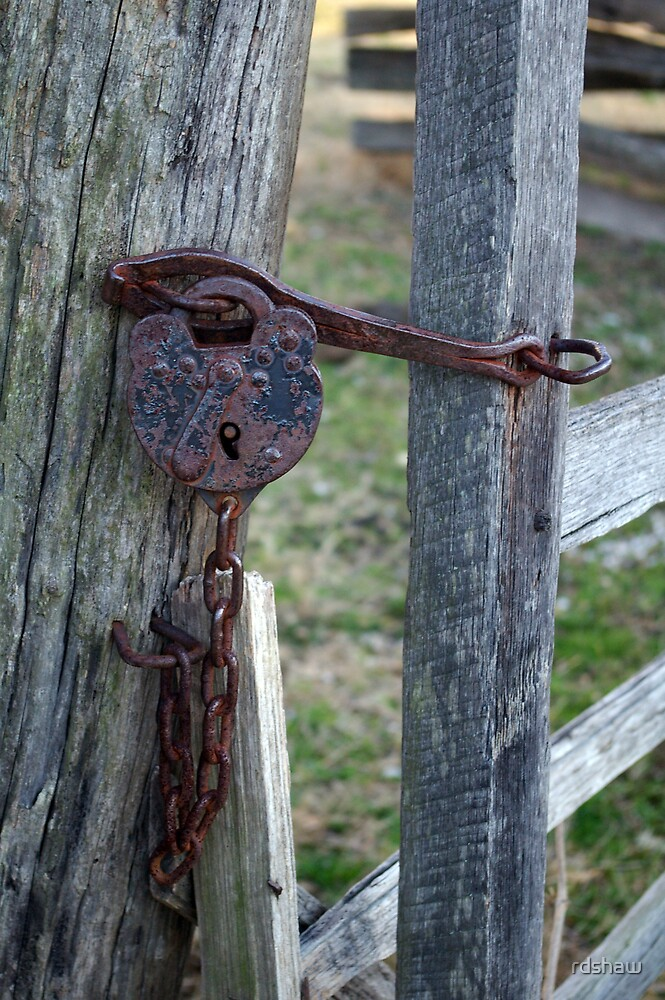 Rusty Lock by rdshaw