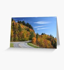 Newfound Gap Road Greeting Card