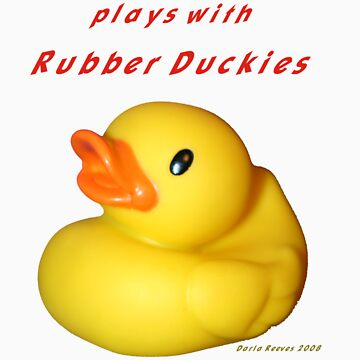 Rubber Ducky by DarlaReeves