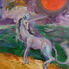 Unicorn by the Ocean by Stephanie Small