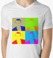Regis Philbin Andy Warhol Men's V-Neck T-Shirt